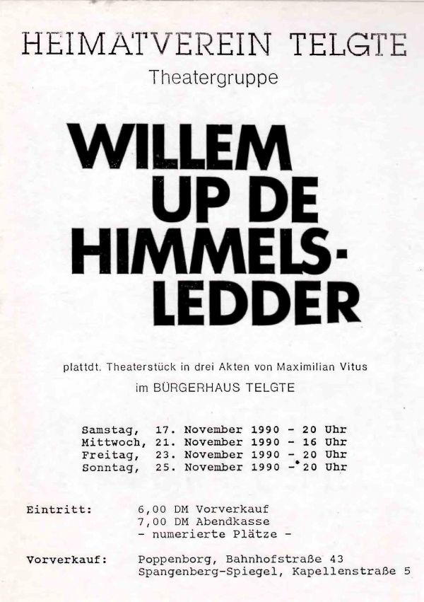 Willem up de Himmelsledder